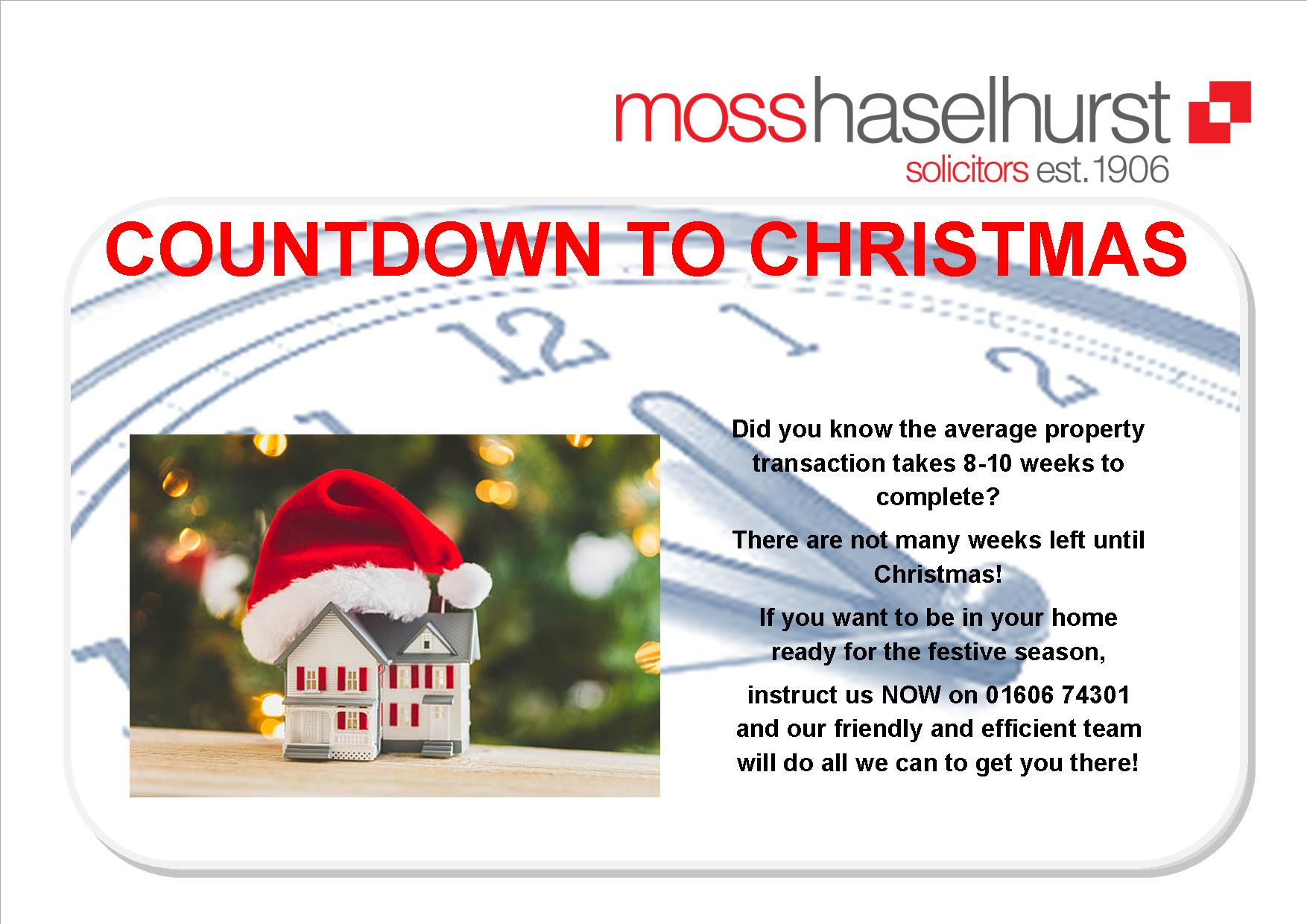 Until Christmas 10 Weeks Till Christmas.Countdown To Christmas Mosshaselhurst Solicitors
